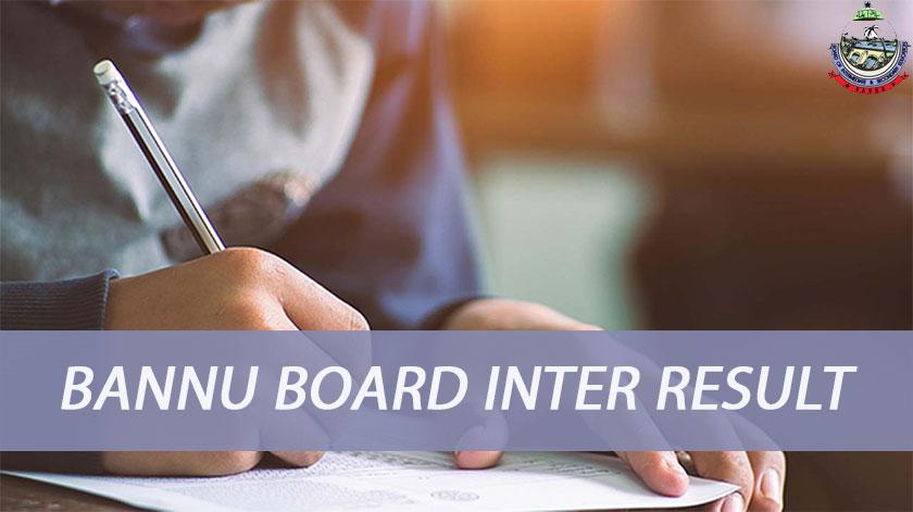 bannu board inter result